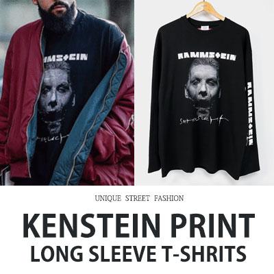 [UNISEX] KENSTEIN プリントロングスリーブTシャツ