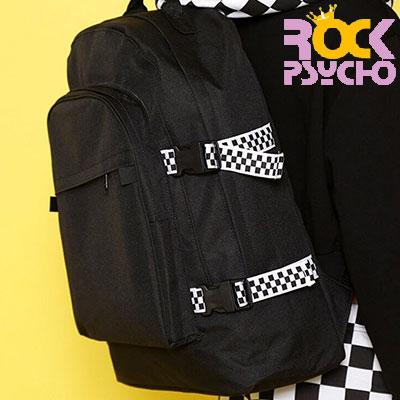 【ROCK PSYCHO】チェッカーボードバックパック