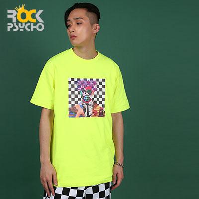 【ROCK PSYCHO】マンアート半袖Tシャツ ( 2 COLORS )