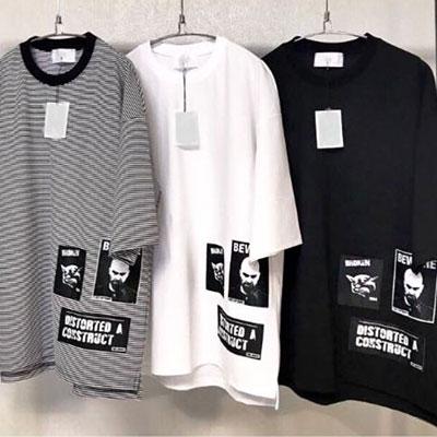 [UNISEX] マルチパッチポイントショートスリーブtシャツ/半袖(3color)