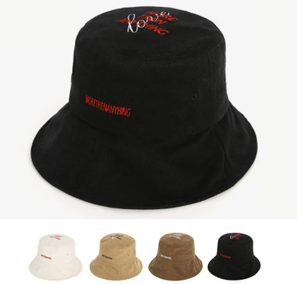 [UNISEX] MORE THEN ANYTHING ロゴポイントバケットハット(4color)