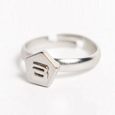 公式応援グッズ★Bigbang 2012 STILL ALIVE Name/Simple ring