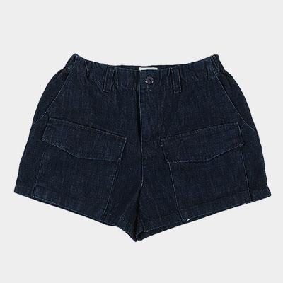 フロントポケットデニムショートジーンズ(2size)