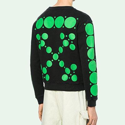 [UNISEX] グリーンバブルアロースウェットシャツ