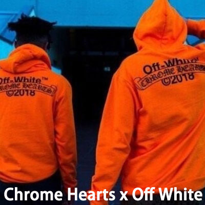 《only VIP》LINE Chr@me Hearts x Off White hoody