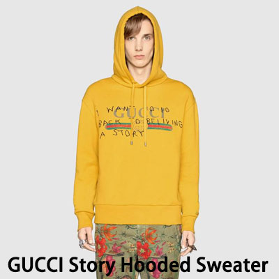 《only VIP》LINE G@CCI  women's Men's  Story Hooded Sweater