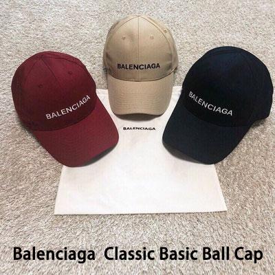 《only VIP》LINE B@LENCIAGA Classic ball cap fall color (deepred,beige,deepnavy) ( (ダストバッグ付き)