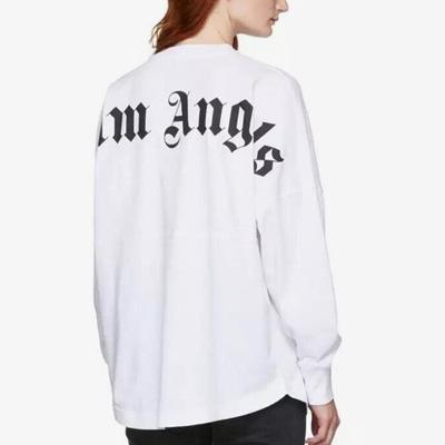 [UNISEX] バックロゴポイント長袖Tシャツ(2size/2color)