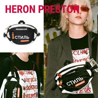 《only VIP》LINE HER@N PRESTON HBX Exclusive Bicolor Fanny Pack (black,red)