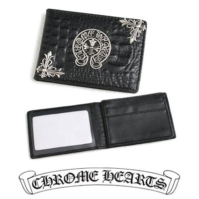 《only VIP》LINE CHR@ME HEARTS METAL LOGO CARDCASE