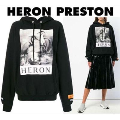《only VIP》LINE Her@n Preston Print Cotton Hoody