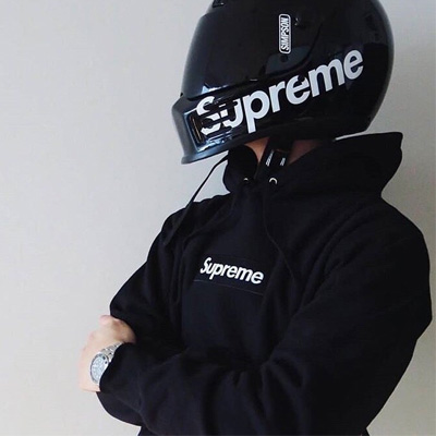 《only VIP》LINE supr*** hoodie