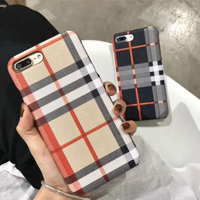 《only VIP》LINE check pattern phone case