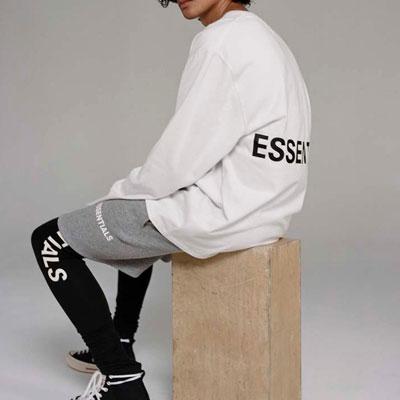 [UNISEX] ESSENTIALロゴロングスリーブtシャツ (3color)