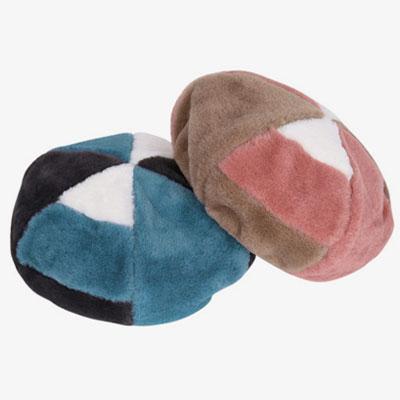 [UNISEX] ファーピースベレー帽(2color)