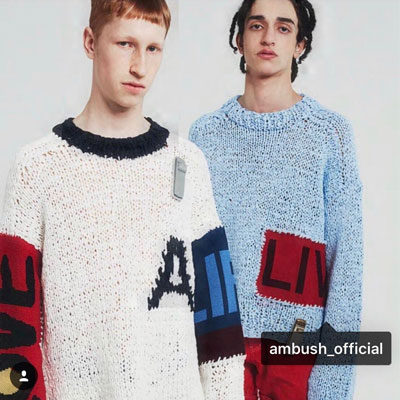 《only VIP》LINE @mbush knit