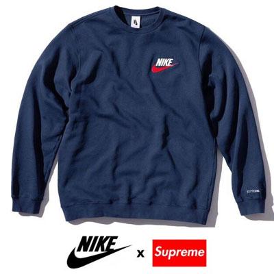 《only VIP》LINE Ni@e X Supr@me  起毛 sweatshirts
