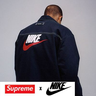 《only VIP》LINE Ni@e X Supr@me zipup jacket