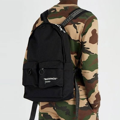 《only VIP》LINE OFF W@ite backpack