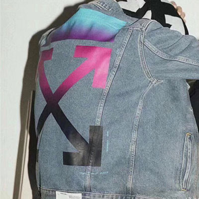 [UNISEX] ピンクアローデニムジャケット(2size)