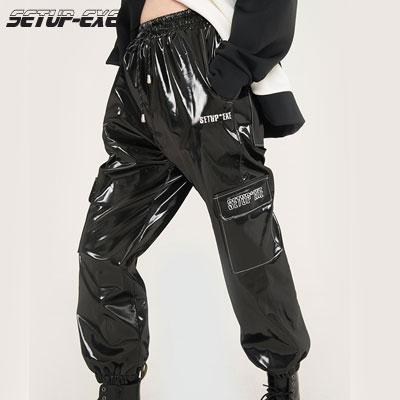 【SETUP-EXE】JOGGER PANTS - Black
