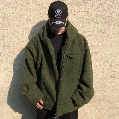 《only VIP》LINE teddy bear big hoodie zipup