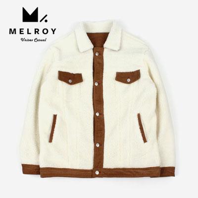 【MELROY】コーデュロイフリースジャケット(2color)