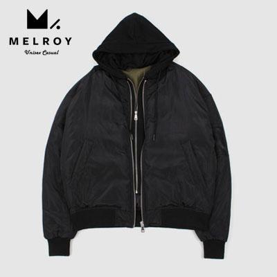 【MELROY】ダックダウンフーディーMA-1ジャケット