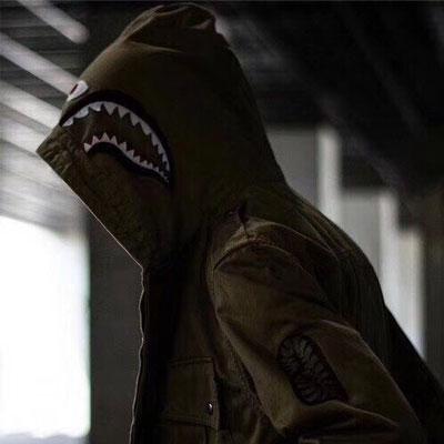 《only VIP》LINE b@pe shark jacket