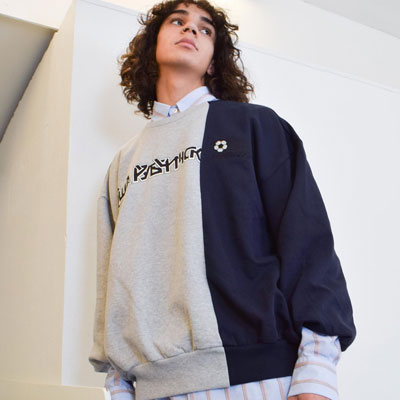 《only VIP》LINE gosh@ embroidery sweatshirts