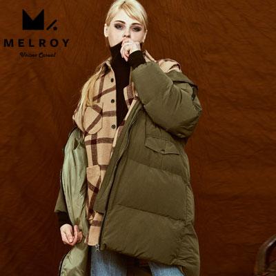 [企画特価]【MELROY】クッションスライドダウンジャケット (2color)