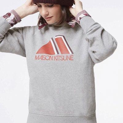 《only VIP》LINE maison kits*** 起毛 sweatshirts