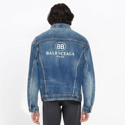 《only VIP》LINE Balenci*** denim jacket