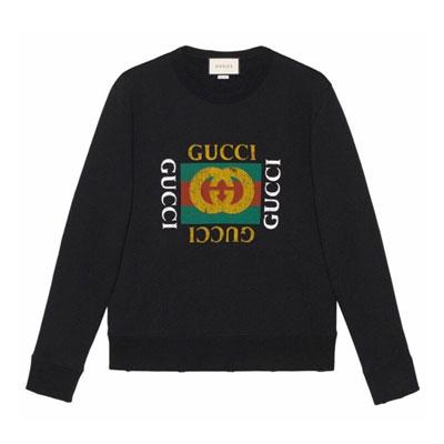 SALE 《only VIP》LINE gu@ci sweatshirts only ivory