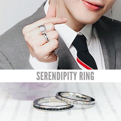 防弾少年団/BTS/Jimin/ジミン st. セレンディピティーリング/指輪(2color 8size)