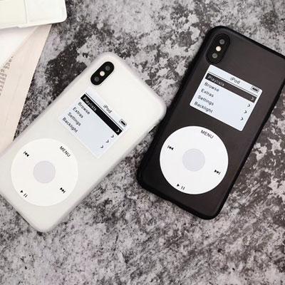 iPodスタイルスマホケース/スマホカバー (2color)