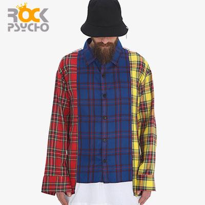 【ROCK PSYCHO】4カラーミックスシャツ