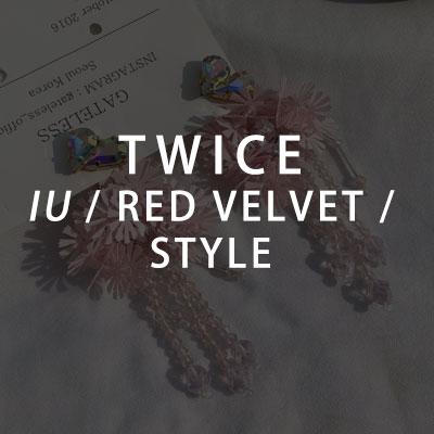 【GATELESS】IU/TWICE/NAYEON/REDVELVET/YERI st. エンジェルイヤリング (2color)