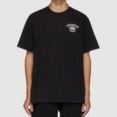[UNISEX] スクリューマークポイント半袖Tシャツ(3color)