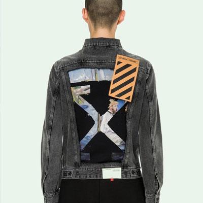 《only VIP》LINE off denim jacket