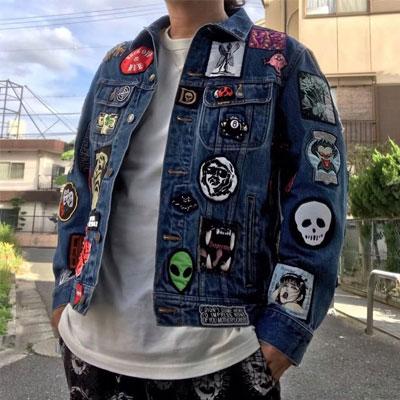 《only VIP》LINE supr*** denim jacket