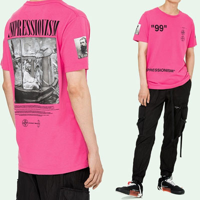 "[UNISEX]99""ボートプリント半袖Tシャツ(2color)"