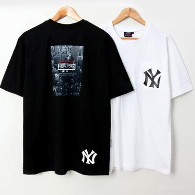 [UNISEX]NEW YORK CITY 半袖Tシャツ(2color/4size)