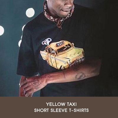 [UNISEX]YELLOW TAXY 半袖Tシャツ(2color/4size)