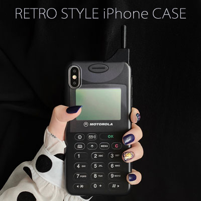 レトロiPhone スマホケース/スマホカバー