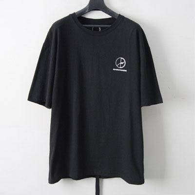 [UNISEX]G-DRAGON st.SMALL FLASH MARK半袖Tシャツ-BLACK