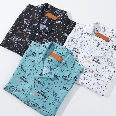 [UNISEX]ユニバース半袖シャツ(3color)
