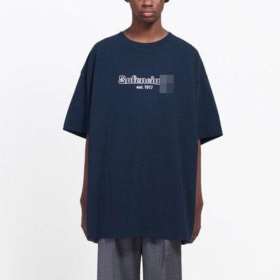[UNISEX]センター刺しゅう半袖ポロシャツ(2color)