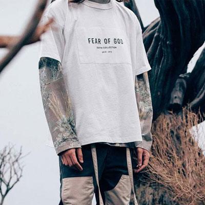 [UNISEX]バックロゴパッチ半袖Tシャツ(3color)
