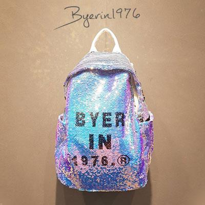 [UNISEX]BLING BYER IN 1976バックパック-white